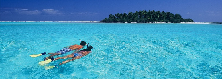 Cook Islands, Aitutaki, Lagoon Cruise, Snorkelling,