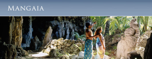 Cook Islands, Mangaia, Cave Tours, Burial Caves,