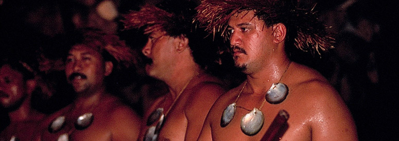 Drummers of the Cook Islands