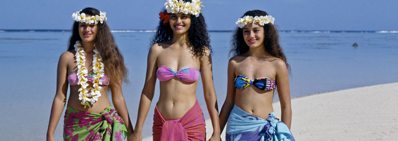 Beautiful Women of the Cook Islands